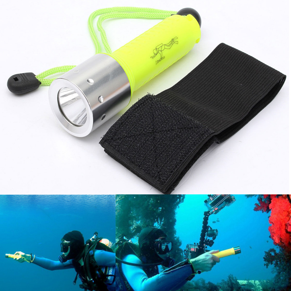 1800LM CREE XML-T6 LED Lanttern Waterproof underwater scuba Dive Diving 18650 Flashlight Dive Torch light lamp for diving(China (Mainland))