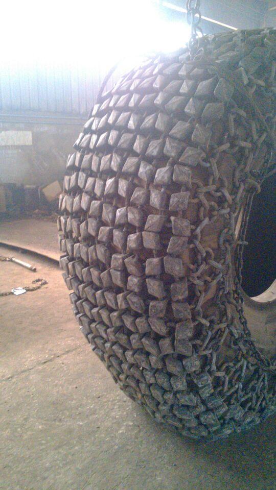 60 лопатой цепи противоскольжения модели погрузчик шины защиты погрузчик цепи