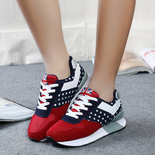 New2016 women casual shoes fashion leather shoes for women comfortabe shook his swing shoes hot selling size 35-40