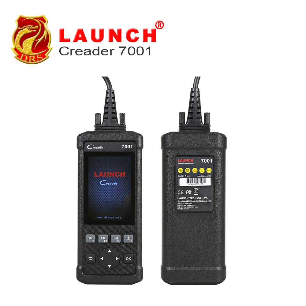 Original Launch DIY Code Reader CReader 7001 Full OBD2 Scanner/Scan Tool with Oil Reset Service diagnosis ENG/AT/ABS/SRS CR7001(China (Mainland))