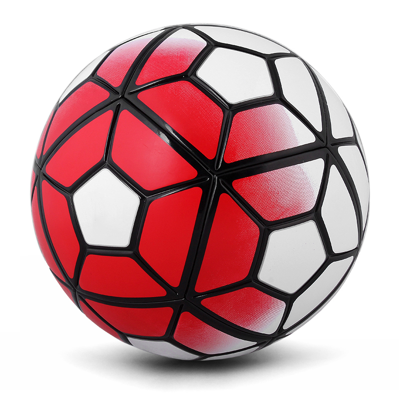 The 10th Soccer Ball Football PU Size 5 Anti-slip Balones De Futbol Mechanically Stitched Bola De Futebol 5 Colors Soccer Balls(China (Mainland))