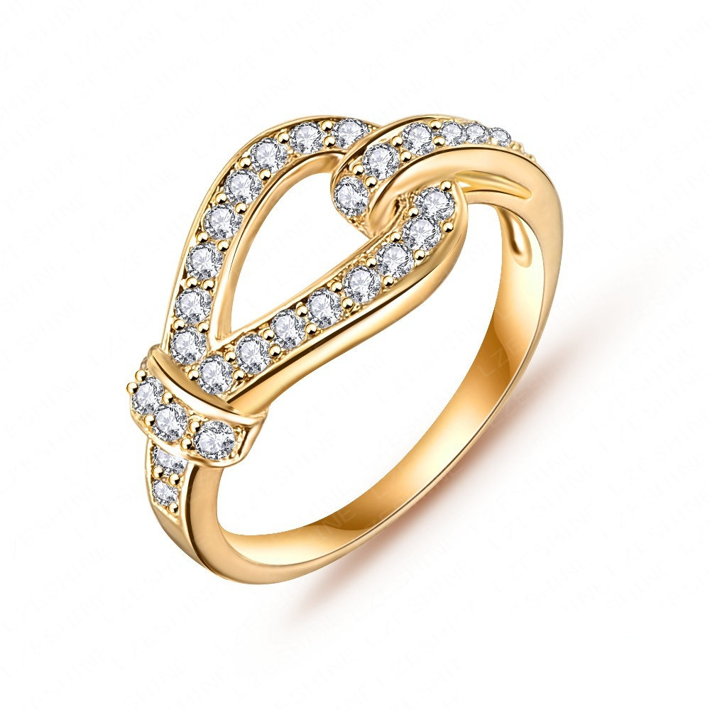 hotest married ring real platinum plated micro pave