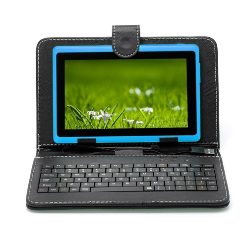 "High End Brand IRULU 7"" Tablet PC 8GB Android 4.4 Quad Core 1024*600 HD A33 Dual Cam Factory Price Tablet w/Keyboard 2015 Hot(China (Mainland))"