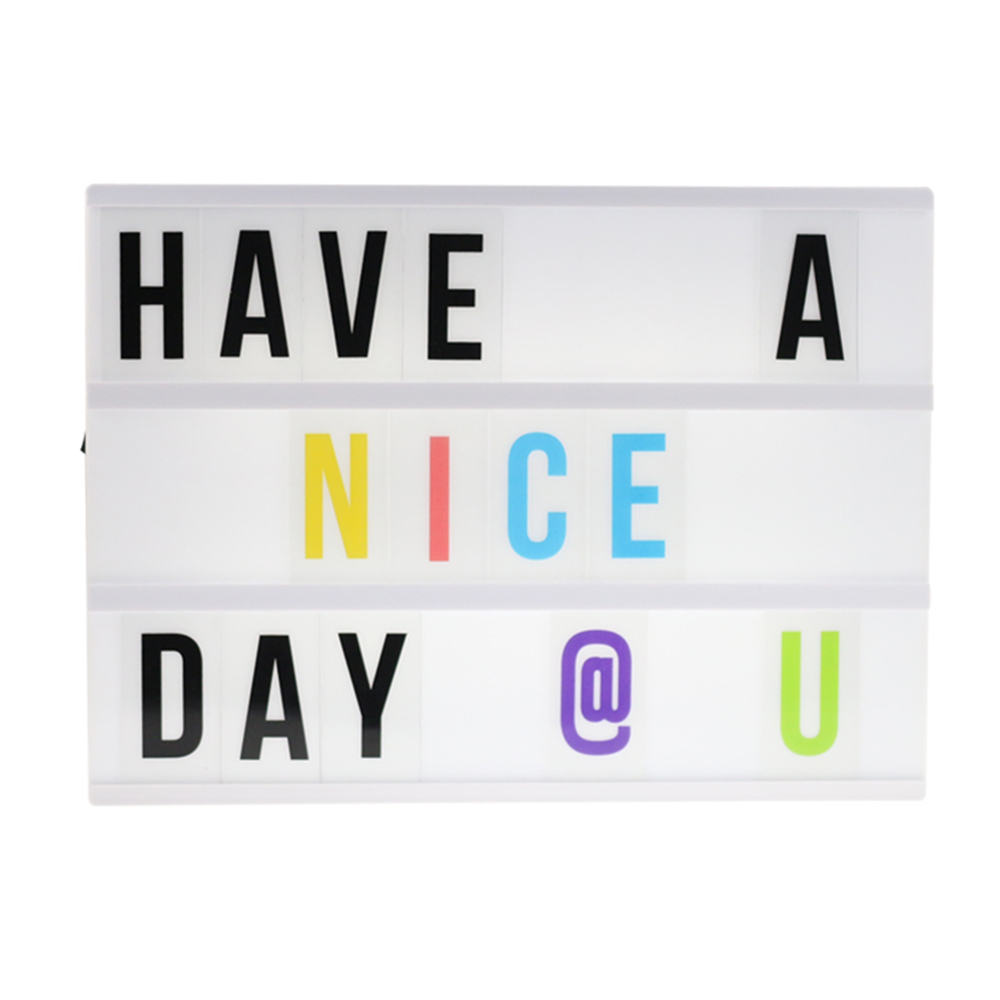 Battery powered and DC port(5.5*2.1) Energized mode A4 Plastic LED cinema lightbox sign for cinema and holiday&homedecoration(China (Mainland))