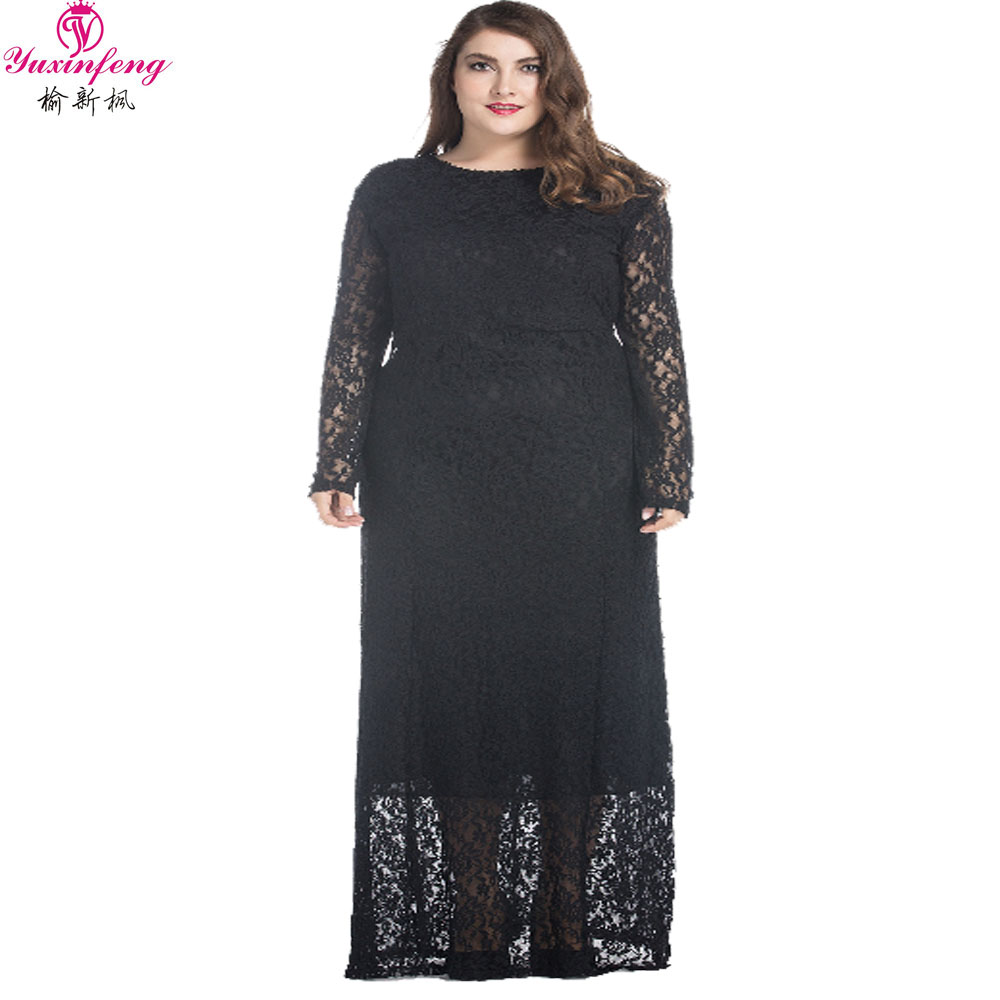 Online Get Cheap Long Dress Casual Maxi Dresses Plus Size Maxi ...