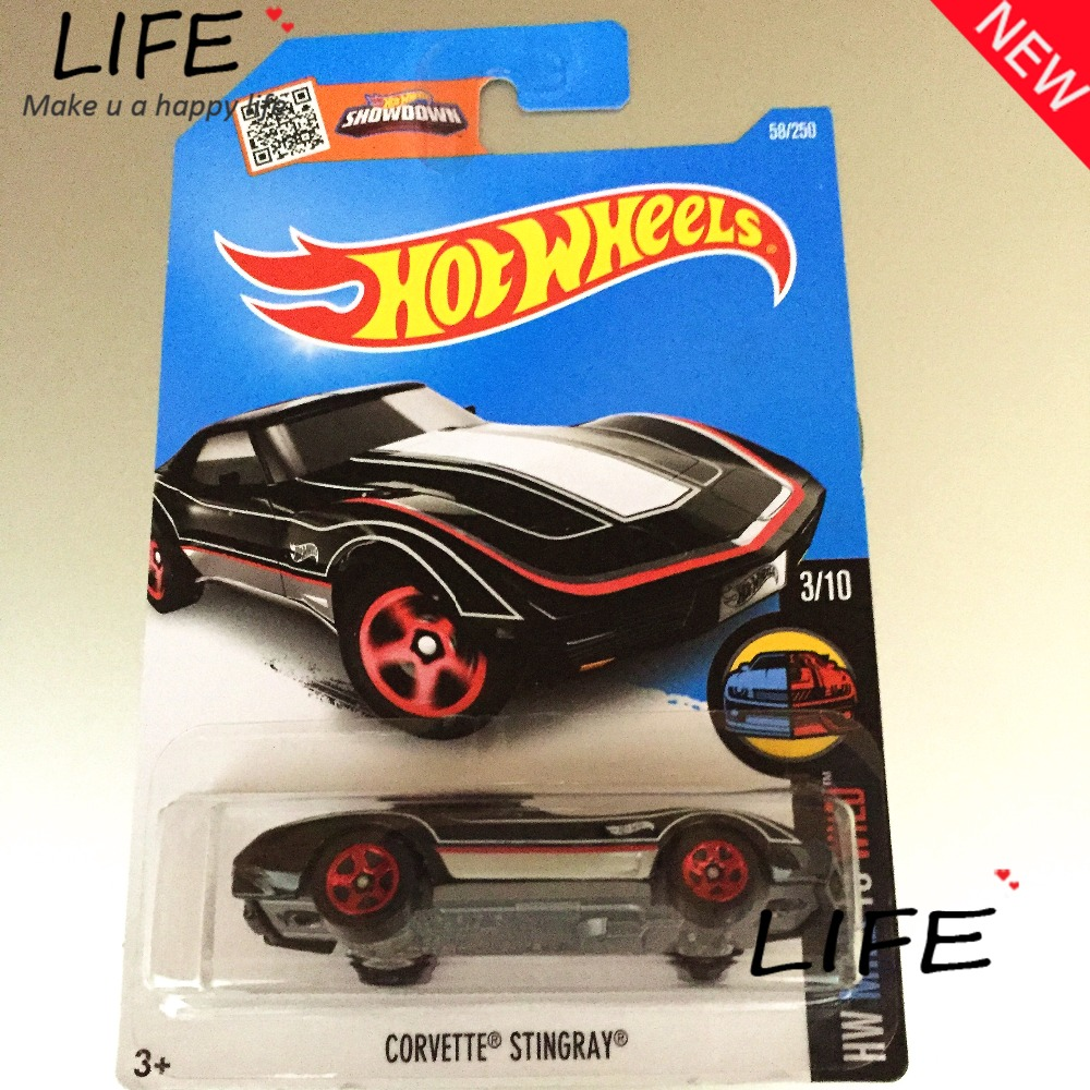 2016 Free Shipping Hot Wheels black stingray Car Models Metal Diecast Cars Collection Kids Toys Vehicle For Children Juguetes(China (Mainland))