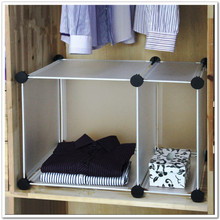 Diy resin magicaf tablets combination wardrobe storage rack clothes finishing storage rack diaphragn tools