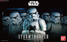 2015 New Genuine Bandai 1:12 Scale Star Wars stormtooper the empire's elite soldiers Plastic Model Building Kits DIY Toys (China (Mainland))