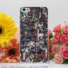 363OI Neon Genesis Evangelion Hard Cover Case for Huawei P6 P7 P8 P9 Lite Plus Honor 6 7 4C 4X G7