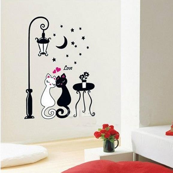 Car Flower Vine DIY Vinyl Wall Stickers For Kids Rooms Home Decor Art