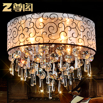 Modern Crystal Ceiling Lights For Living Room luminarias para sala plafon led Crystal Ceiling Lamp Fixtures For Bedroom(China (Mainland))