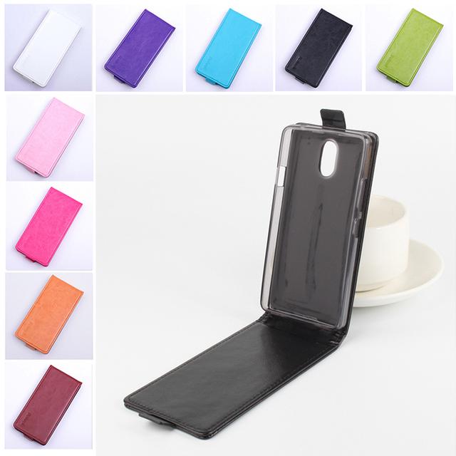 9 цветов кожи телефон чехол для Lenovo атмосфера P1M открыть вверх и вниз флип кожаный чехол