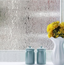 Buy 45/60/80cm Glue Privacy Decorative Window Film Static Cling Self-adhesive Opaque Glass Sticker Home Decor Kiss Rain ST053 for $9.90 in AliExpress store