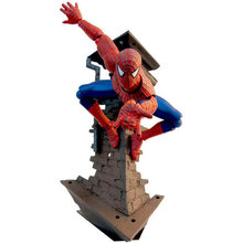 Anime Figure 14CM Spiderman Series No.039 Spider-Man Variable PVC Action Figure Collectible Model Toy Brinquedos Chiristmas Gift