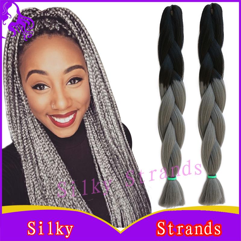 Knekalon Braiding Hair 24 10pcs100g High Temperature Fiber Synthetic Braiding Hair Ombre African American Hair Braiding Styles<br><br>Aliexpress