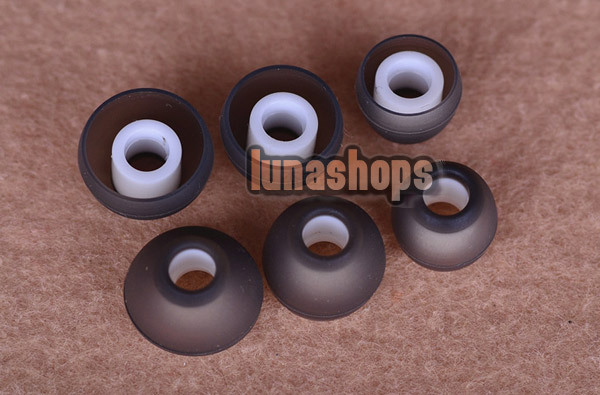 3 pairs/set Replacement Foam Tips Earcaps Earbuds tips for Ultimate Sennheiser earphone LN002890(China (Mainland))