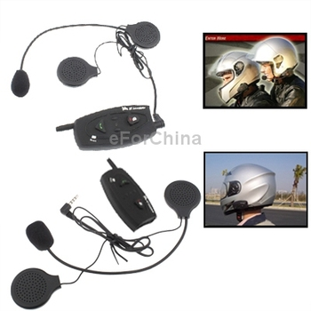 500m Bluetooth Interphone Headsets for Motorcycle Helmet ((2pcs in one packaging, the price is for 2pcs) )