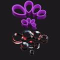 2pair 6 16mm Ear Gauges Ear Plugs Tunnels Water Drop Hollow Ear Expander Flesh Ear Skin