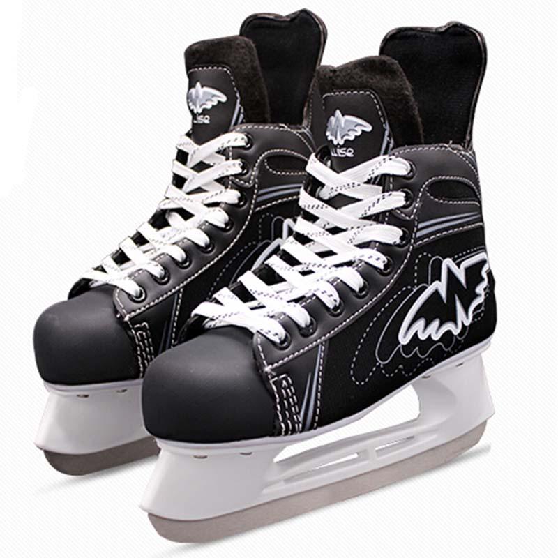 Original Wise Ice Hockey Shoes Adult Child Ice Skates Professional Flower Knife Ice Hockey Knife Shoes Real Ice Skates(China (Mainland))