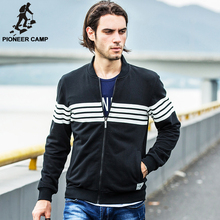 Pioneer campFree shipping!2015 autumn new arrival mens cardigan hoodies sweatshirt casual cotton sportswear mens coat hoody plus