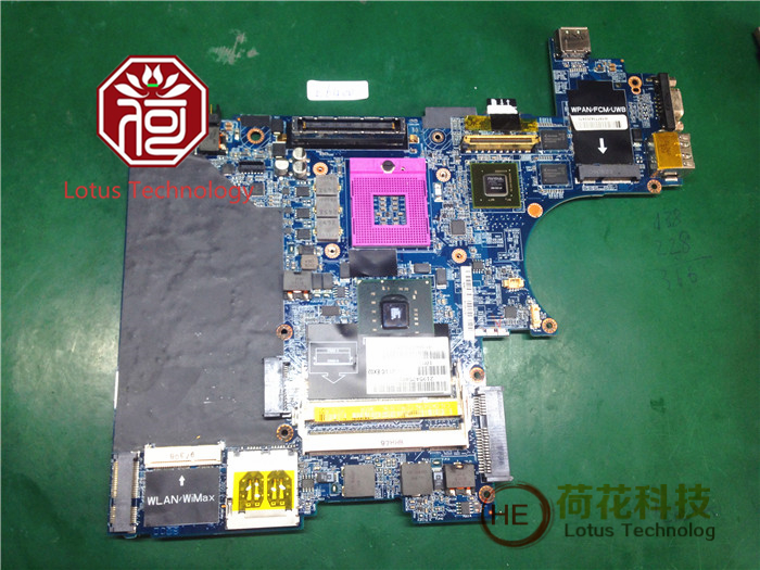Free shipping CN-0K543N FIT LAPTOP MOTHERBOARD K543N LA-3806P FOR DELL Latitude E6400 Detecting 100% perfect job(China (Mainland))