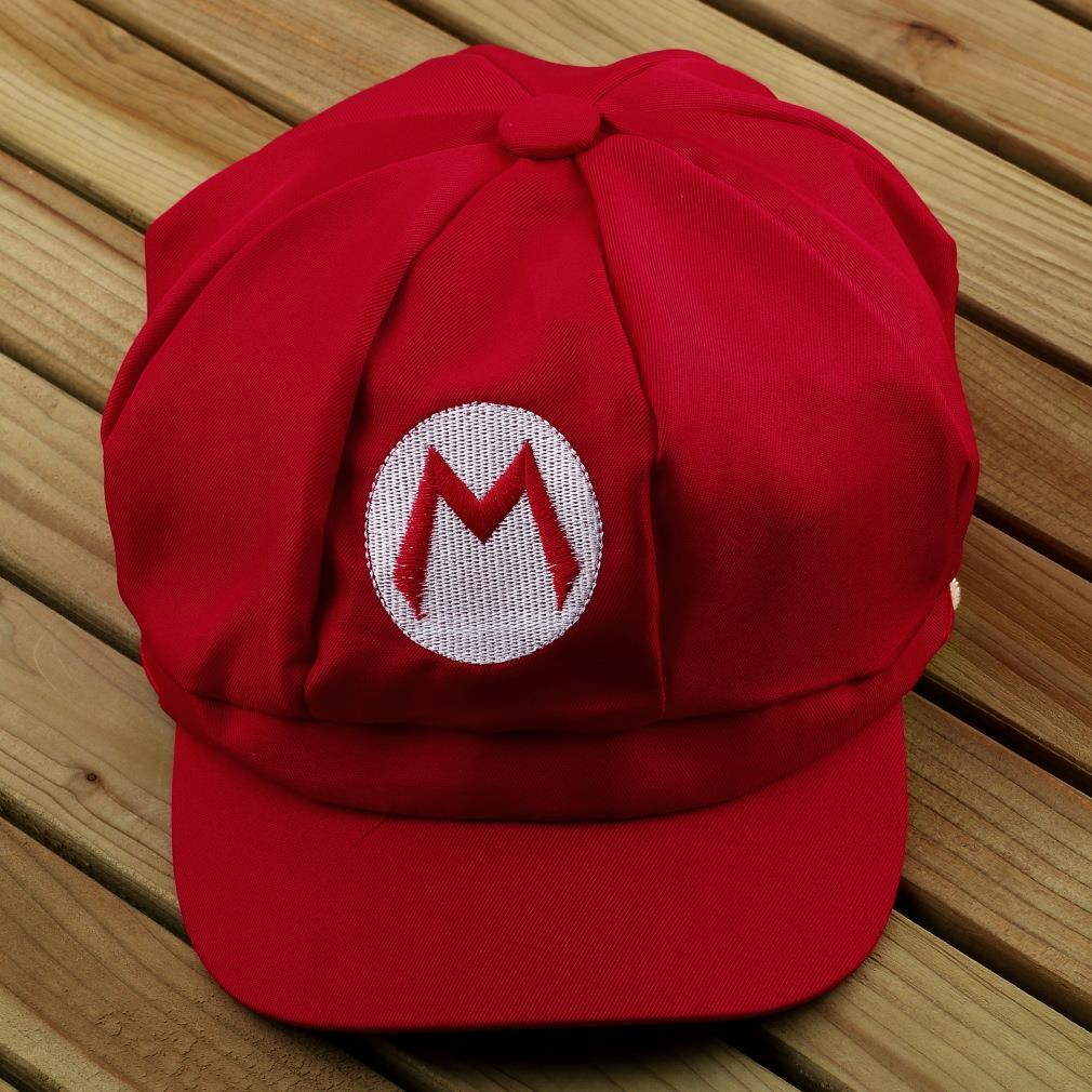 1pcs Fashionable Multi-colors Adult Super Mario Bros Cosplay Hat Cap Baseball Costume Gift New Arrival