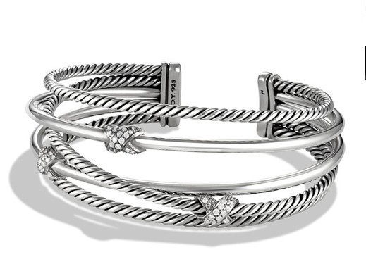 X Crossover Cuff Bracelet crystal Double infinite multilayer vintage accessories jewelry brace lace - J&S OUTDOOR store