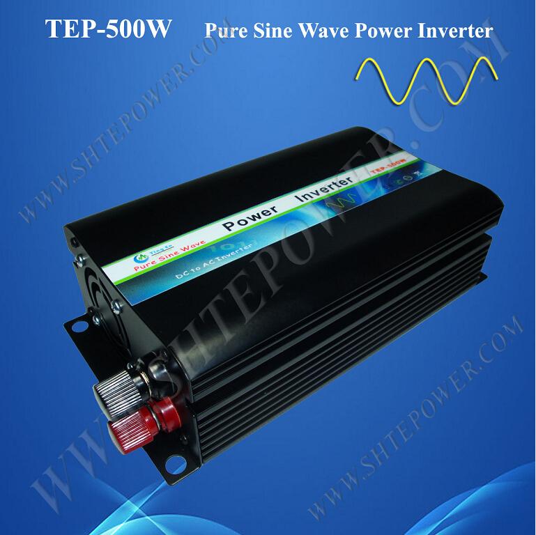 pure sine wave off grid dc to ac 500w solar micro inverter 12v 110v(China (Mainland))