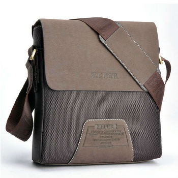 New Arrival fashion high quality zefer canvas men bags, fashion men business bag, portfolio bag, small bag outdoor sports