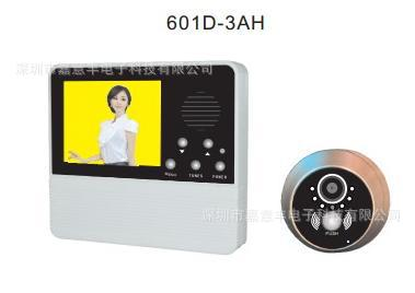 Russia Visible interphone 's eye bell can take pictures, stored, color 3.2 -inch security door bell(China (Mainland))
