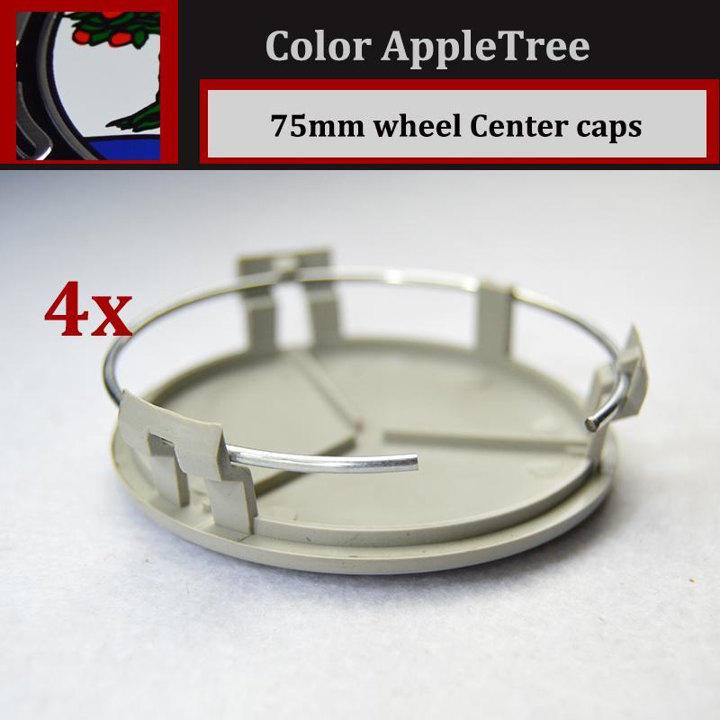 4x 75MM Auto Wheel Cover Car Wheel Emblem Label Car Wheel Hub Cap AMG AFFLTERBACH /GLS/GLC/GLA/GL/GLK/ML(China (Mainland))