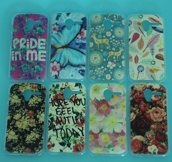 2015 New arrival 3D painting Case for Moto X hard cases back Cover DIY beautiful flowers case(China (Mainland))