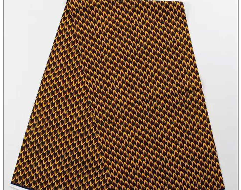 veritable african super wax prints  fabric real batik 100% combed cotton patchwork  hollandais for Nigerian popular dress