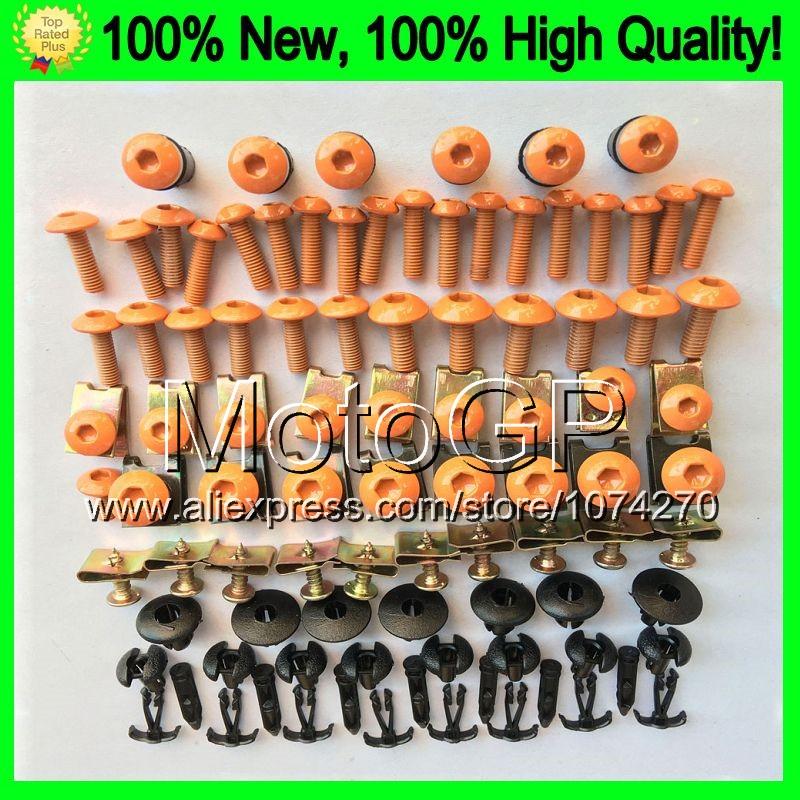 Fairing bolts full screw kit HONDA CBR600F2 91-94 CBR 600F2 CBR600 F2 91 92 93 94 1991 9992 1993 1994 9E171 Nuts bolt screws  -  MotoGP! store