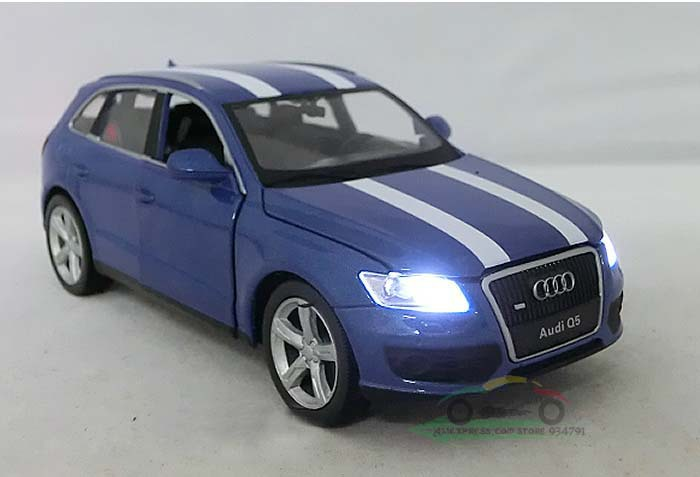 1:32 Audi Q5 Acousto Optic 4 Open Door Pull Back Fashion Kids Toys Car Classic Vintage Alloy Car Model Wholesale Free Shipping(China (Mainland))
