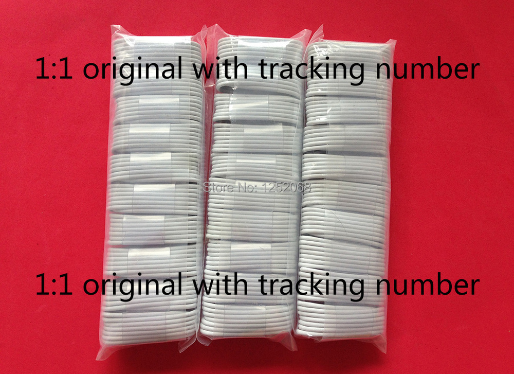 20good quality 1m white data sync usb charger cable cabo cord iPhone 5 5c 5s 6 6s SE ipad air mini ios 9 - ShenZhen HonBon Technology Trading Co.,Ltd store