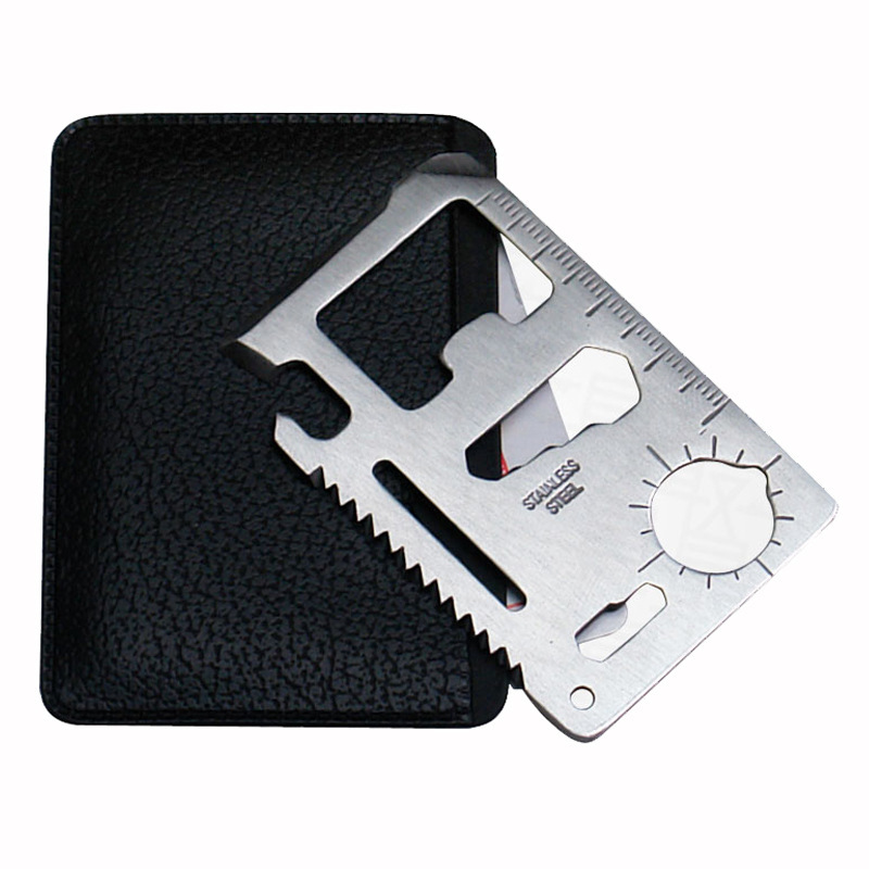 Multifunction Card Knife Card Universal Large Lifesaving Outdoor Camping Multipurpose tool Pocket Survival Tool Outdoor(China (Mainland))