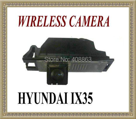 WIRELESS CAR/Auto REAR VIEW REVERSE CAMERA FOR Hyundai IX35 / I35 / Tucson 2011