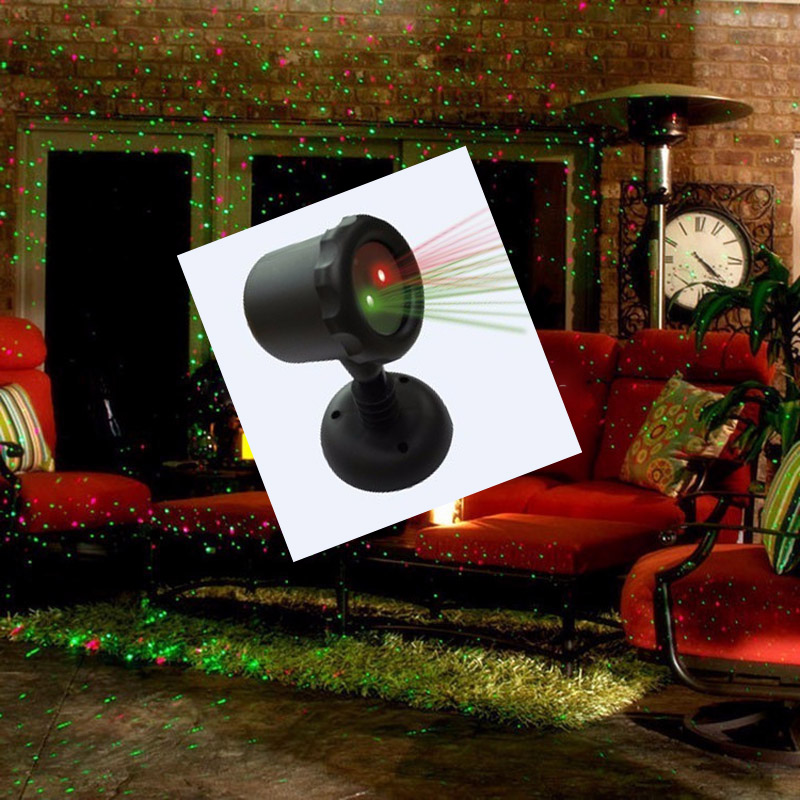 New IP65 IP Rating and Red and Green Emitting Color laser light show projector popular ELF light christmas lights outdoor laser(China (Mainland))
