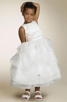 Little girl's beautiful dress/free shipping Flower Girl Dresses,girl's dresses,girl's party dress,sleeveless