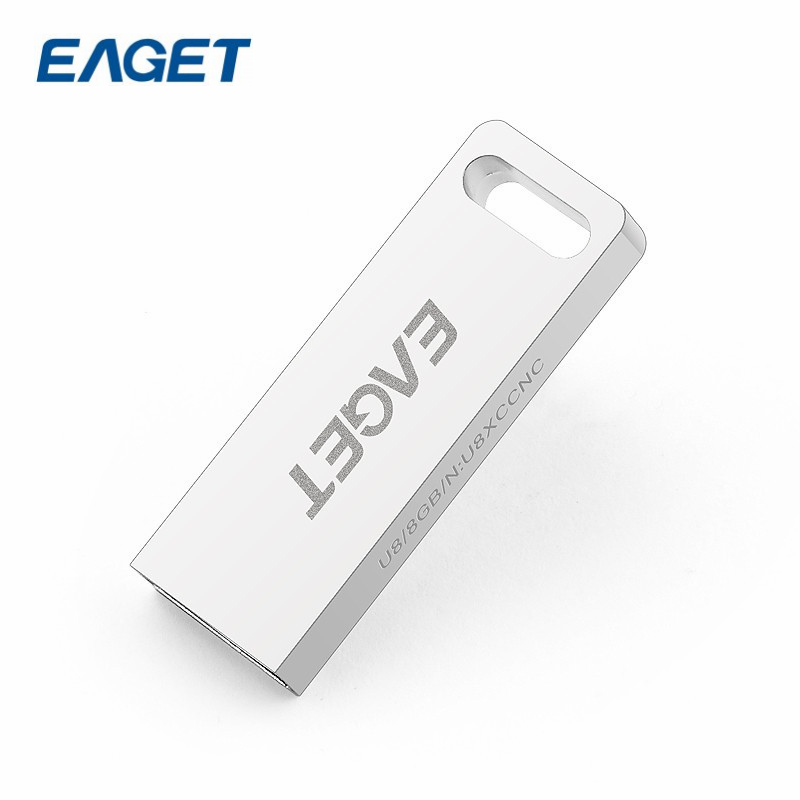 Clearance! 100% Original Brand EAGET U8 High Speed USB3.0 16GB Fashion USB Stick Portable Flash Drive Pen Drive Full Metal Body(China (Mainland))