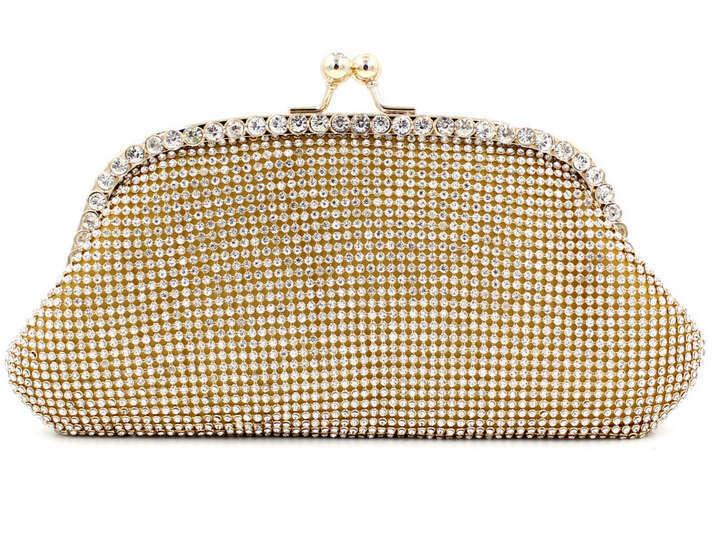 2015 New Both Side Diamond purse Crystal Evening Bag Clutch Bags Hot Styling Day Clutches Lady Wedding Purse handbag w487(China (Mainland))
