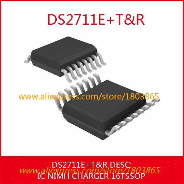 Free Shipping Integrated Circuits Types DS2711E IC NIMH CHARGER 16TSSOP 2711 DS2711 2711E 3pcs(China (Mainland))