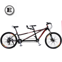 21/24 Speeds Aluminium alloy Tandem Bike,Both Disc Brakes,Absorb Shock Fork,Top Derailleur,High Quality(China (Mainland))