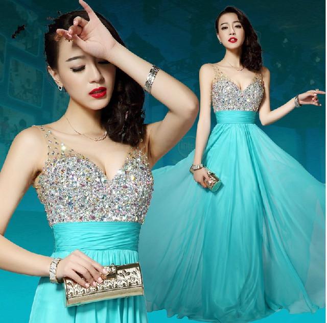 Вечернее платье Жилетidos TK025 2016 последние дизайн платье-линии длиной до пола ...