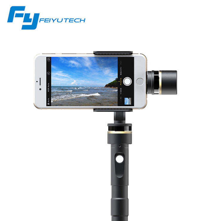 Feiyu Tech G4 Plus 3-axis Brushless Handheld Gimbal for Smartphone Iphone 6 Plus Iphone 6s