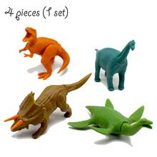 Das Crianças DIY Montado Combinação Brinquedo Dinossauro Pterossauro Dragão Serpente Cobra Pescoço Torcido Divertido Ovo Ovo Montado Toy Meninos Presente(China)