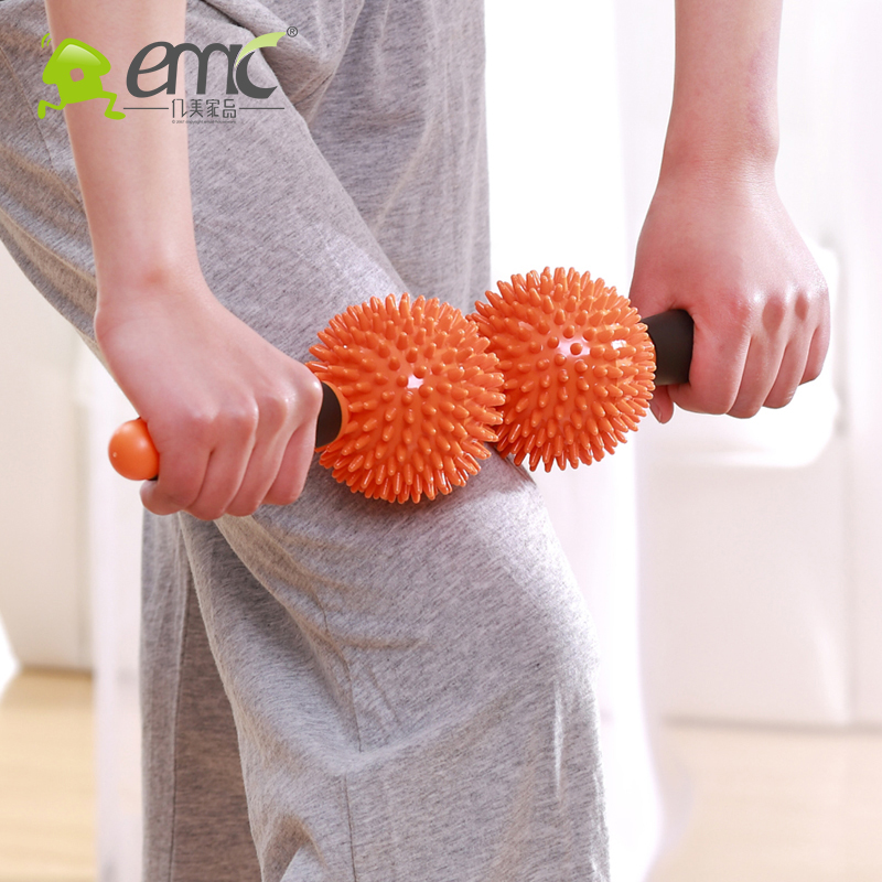 Massage hammer roller Fitness stick meridian health care back hammer massage device fashion Relaxation machine(China (Mainland))