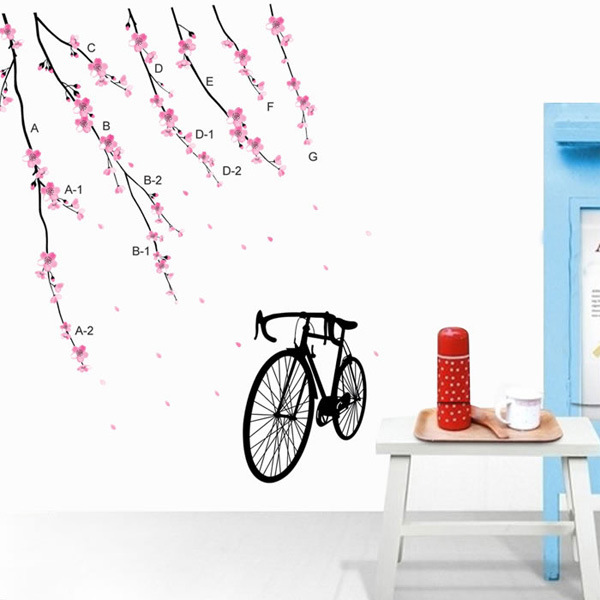 Colnago removable wall stickers bedroom living room wall stickers bicycle(China (Mainland))
