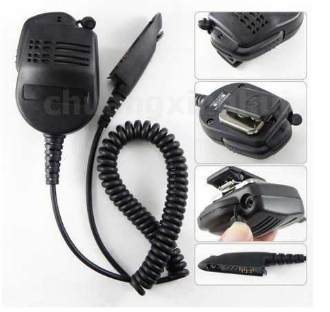 10pcs Pro Shoulder Speaker Mic Micphone for Motorola Radio MTX850 HT Walkie talkie two way CB Ham Radio